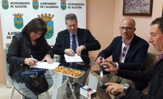 La Diputació d'Alacant inverteix 416.500 euros en la construcció d'un depòsit regulador d'aigua a l'Alguenya