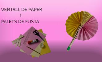 Com crear un ventall de paper i palets de fusta
