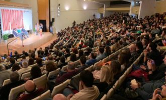 Compromís celebra el seu acte central a Alacant convençuts de liderar el nou govern valencià el 28 d'Abril
