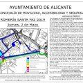 Els dos carrils de N-332/340, sentit Sant Joan-Alacant, quedaran tancats 2 de maig