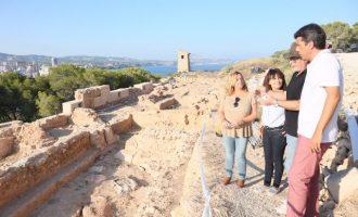 Es descobreix la Porta Oest a la Pobla Medieval d'Ifach, un segon accés a l'interior de la ciutat de Calp