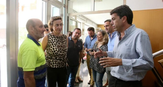 La Diputació d'Alacant activa un Grup de Coordinació Tècnica focalitzat en carreteres i aigua per ajudar a la Vega Baixa després del temporal