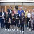 L'alcalde rep a Anastasia Ignatyev, bronze en l'Europeu de Taekwondo