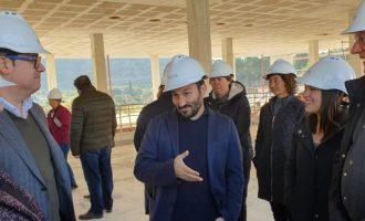 """Marzà: """"Només amb 'Edificant' tenim adjudicats ja 58,8 milions d'euros en infraestructures escolars a la Marina Alta i la Marina Baixa"""""""