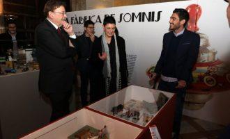 Ximo Puig destaca la importància del joguet alacantí com a peça 'fonamental' del Nadal