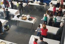 50 famílies cuinen aquest matí en el parc de Bombers del SPEIS