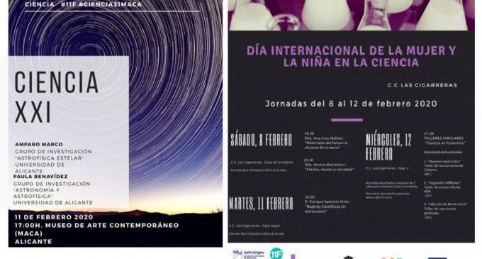 La Regidoria de Cultura celebra el Dia Internacional de la dona i la xiqueta en la ciència